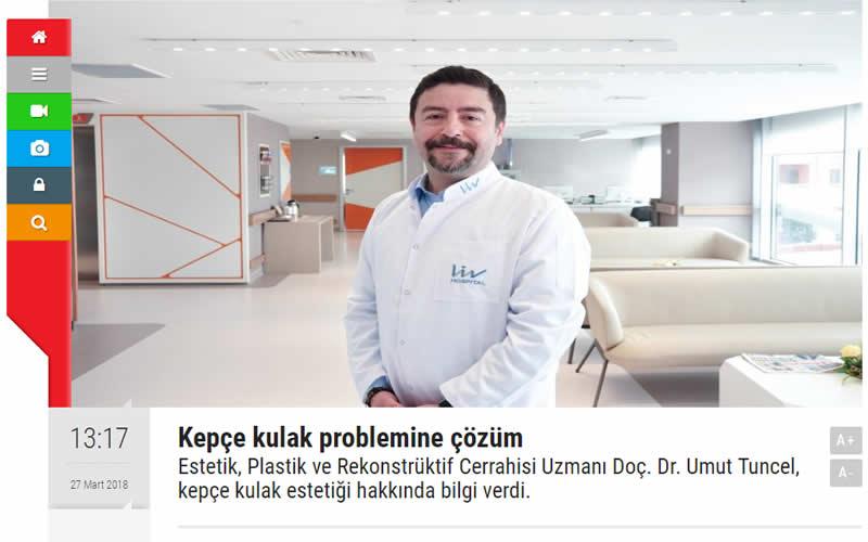 Kepçe Kulak Problemine Çözüm Marmara Gazetesi