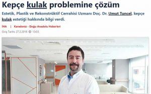 Kepçe Kulak Problemine Çözüm Sabah Gazetesi