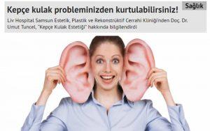 Kepçe Kulak Problemlerinizden Kurtulabilirsiniz Arena